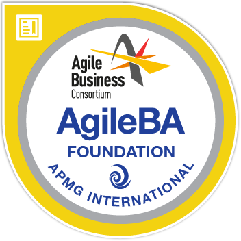 Agile Business Analyst Badge