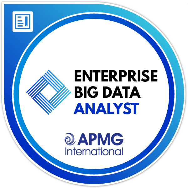 Enterprise Big Data Analyst Badge