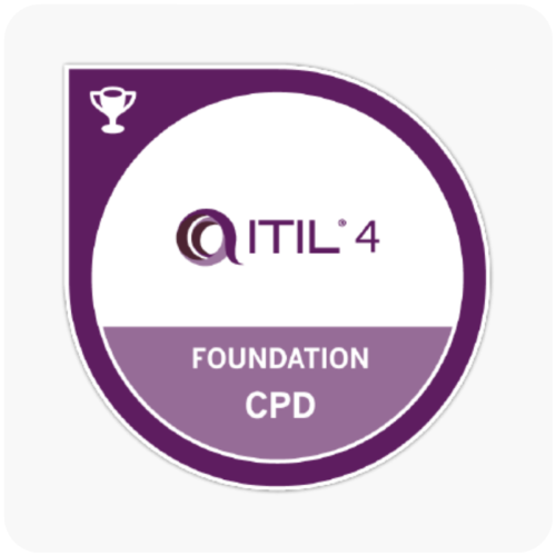 ITIL 4 Foundation Digital Badge